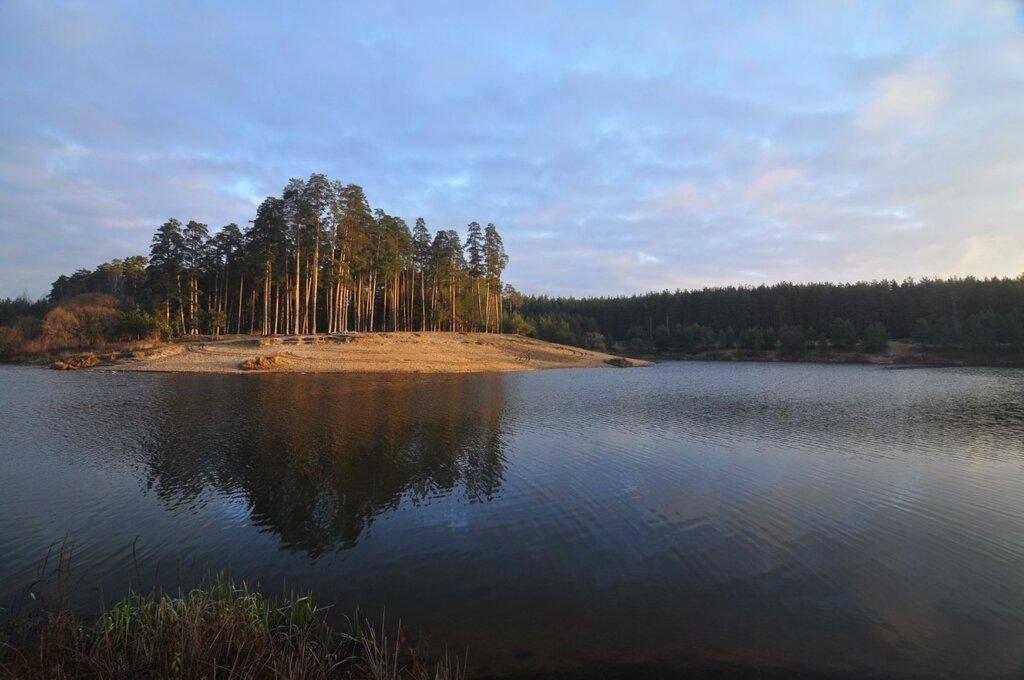 озеро Земснаряд - старт